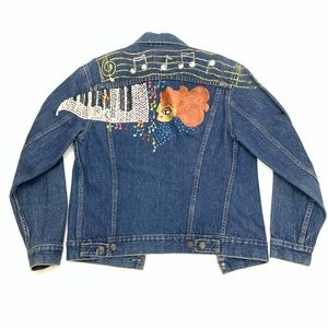 Levi's | Hand Designed/Painted Denim Jacket